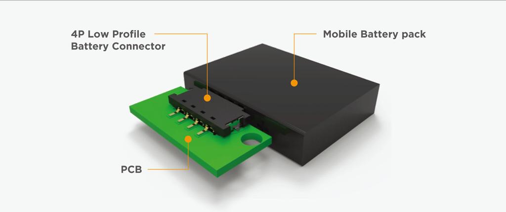 TE モバイルバッテリーコネクタのアプリケーション事例