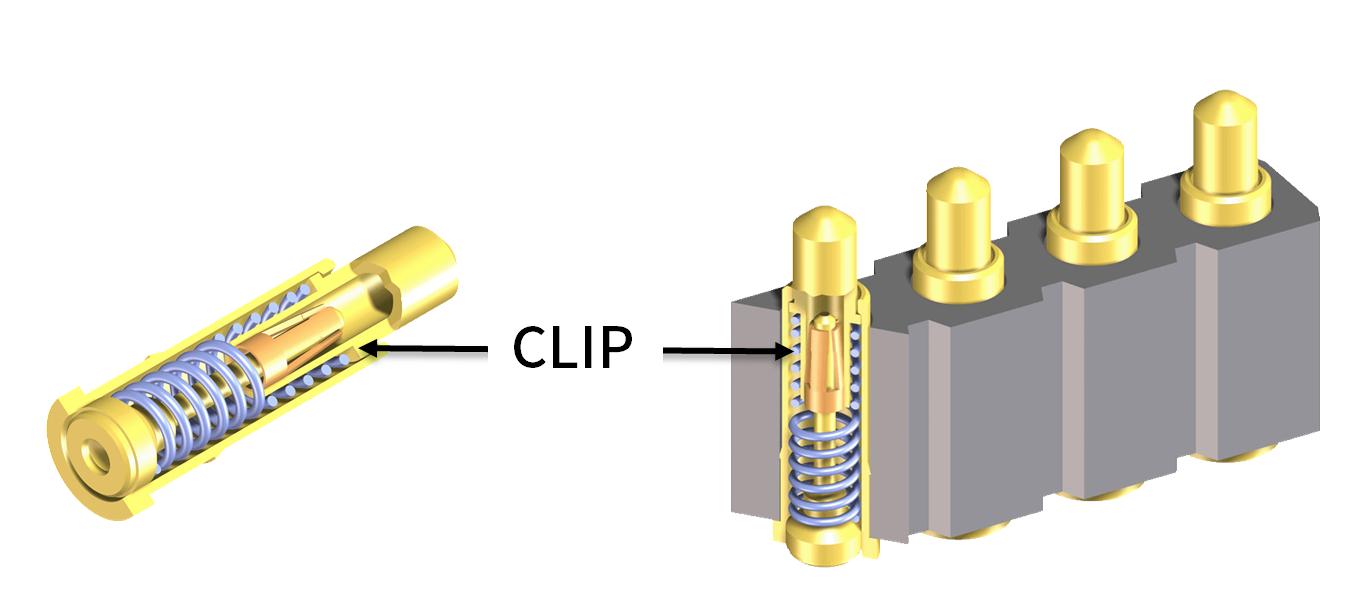 特許 CLIP により衝撃・振動時の接触信頼性を確保