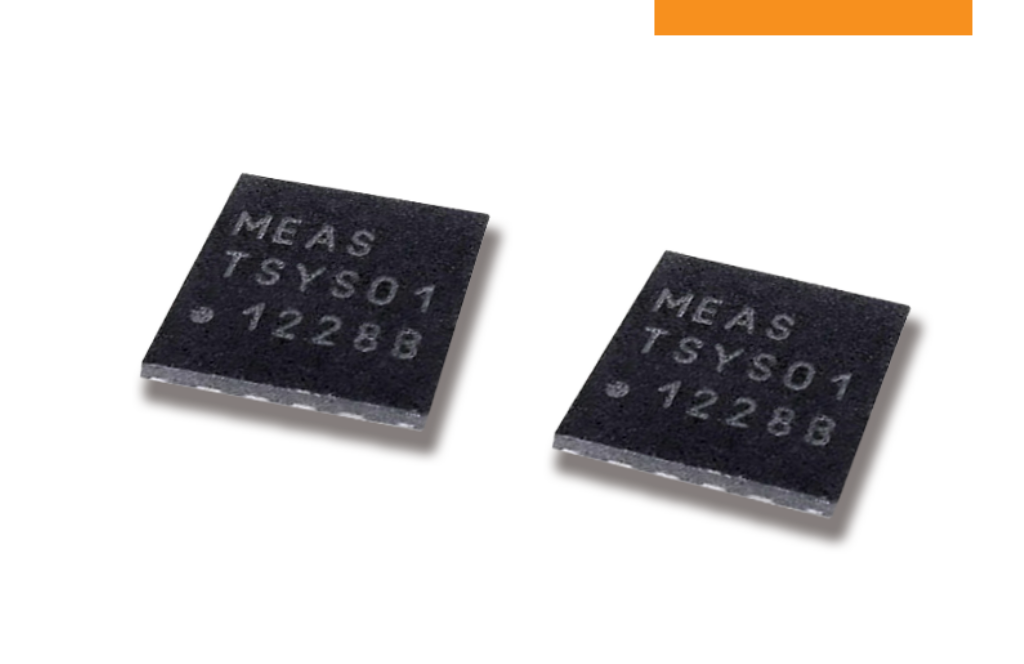 表面実装型 高精度デジタル温度センサ TSYS01