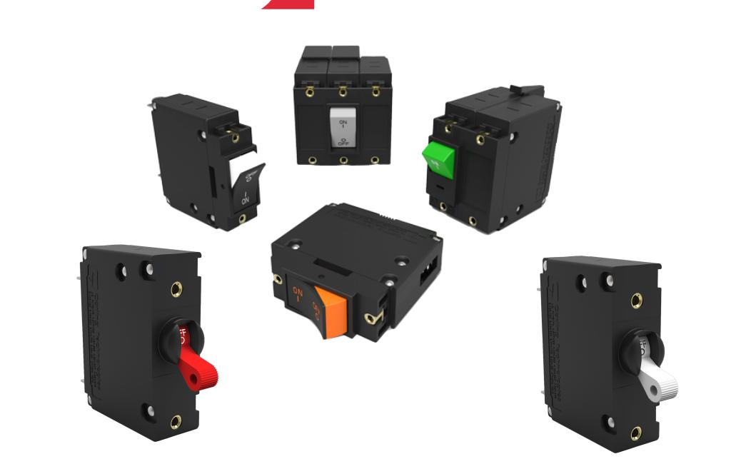 流体電磁式サーキットプロテクタ J-Series