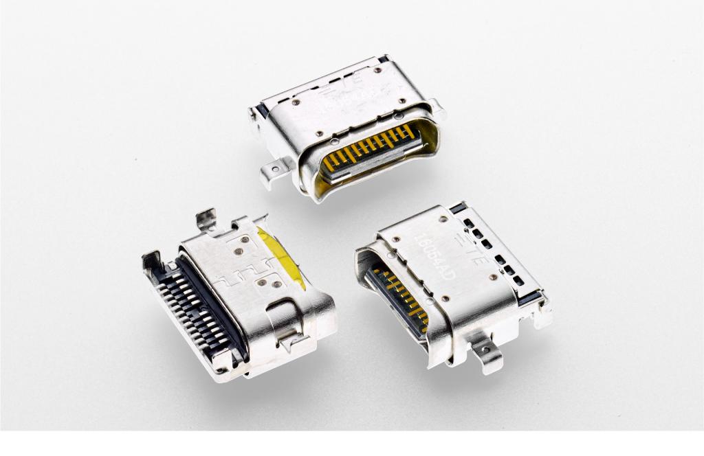 TE USB Tyoe-C コネクタイメージ写真