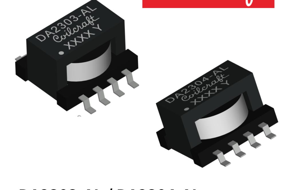 RS-485 トランシーバ用高絶縁耐圧トランス DA2303-AL/DA2304-AL