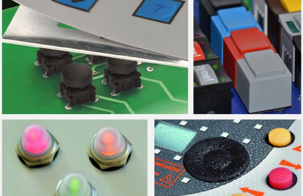 APEM 社の各種 MEC スイッチ (uniMEC/control/MEC/foilMEC/aquaMEC)