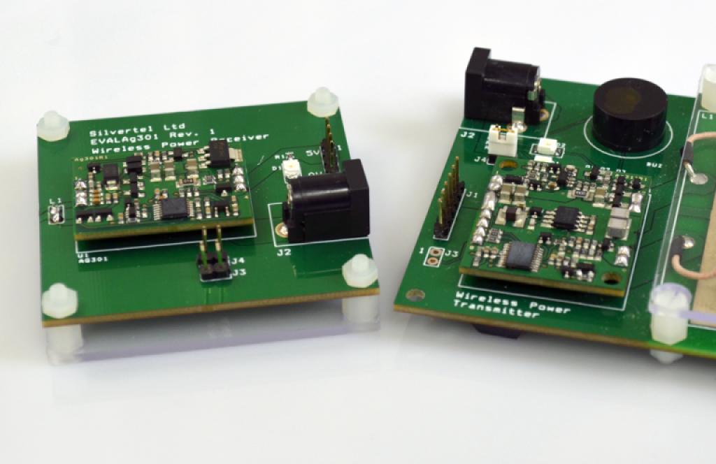 国際標準規格 Qi に準拠したワイヤレス給電モジュール Ag311/Ag301