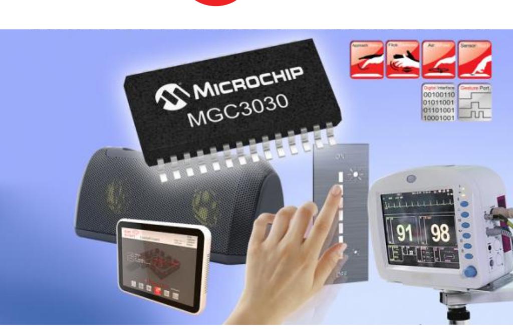 MGC 3D ジェスチャセンシング IC