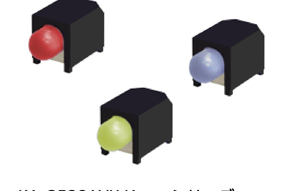Kingbright 社製 SMT ハウジング LED KA-3528AVU/Axxx シリーズ