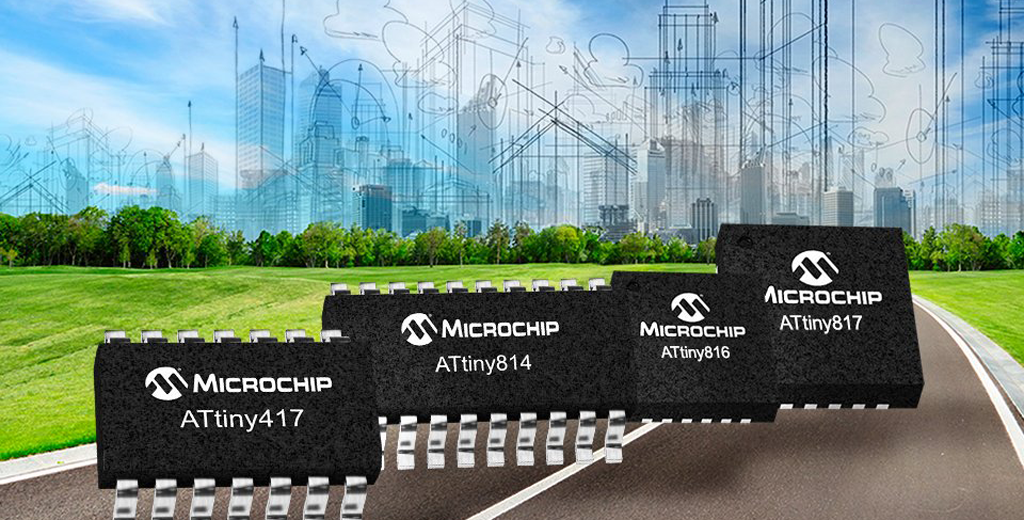 Microchip AVR 8ビット MCU