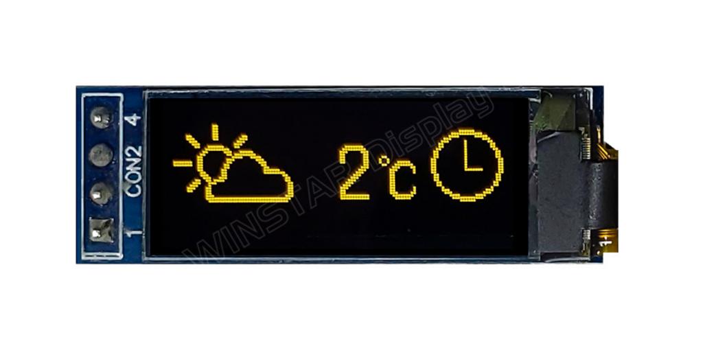 WEA012832F OLED 表示機