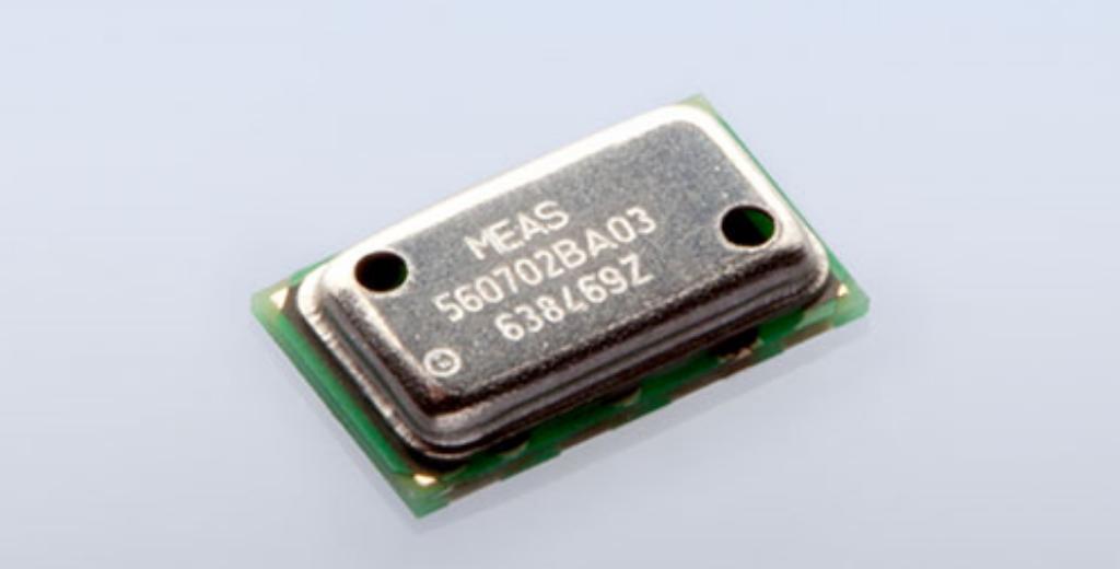 MS5607-02BA 表面実装超小型気圧センサ