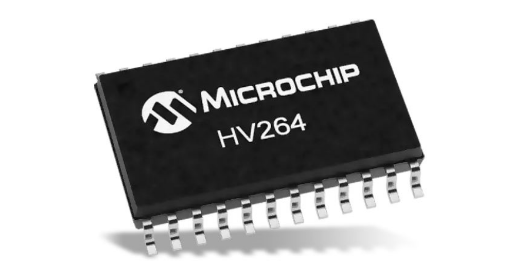 MEMS ドライバに適した高電圧アンプ アレイ (4回路入り) HV264