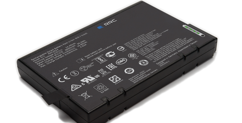 RRC 社の標準 Li-ion 電池パックシリーズ