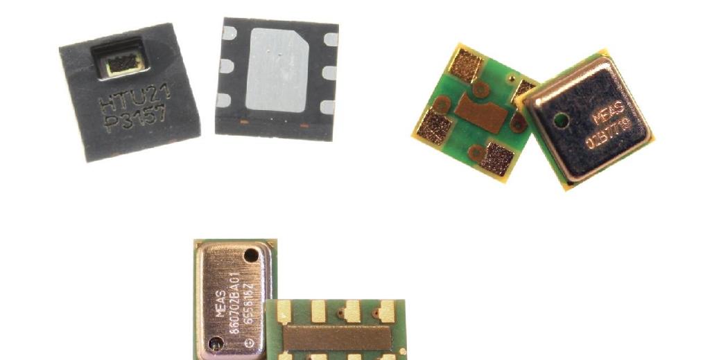 TE Connectivity 社製 MEAS 小型・低消費電力センサ製品