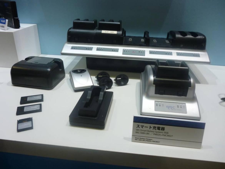 RRC 社の幅広い充電器製品ラインアップ