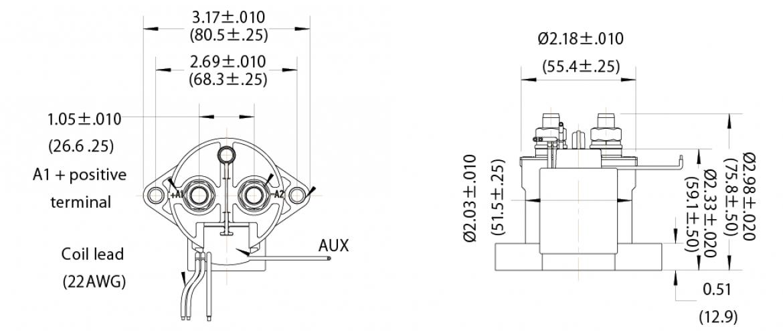 参考寸法図(JEV250)