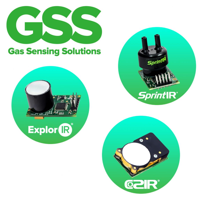 GSS の CO2 センサーラインアップ