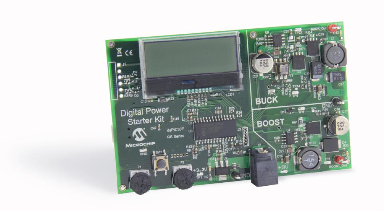 Microchip 社デジタル電源スターターキット DM330017