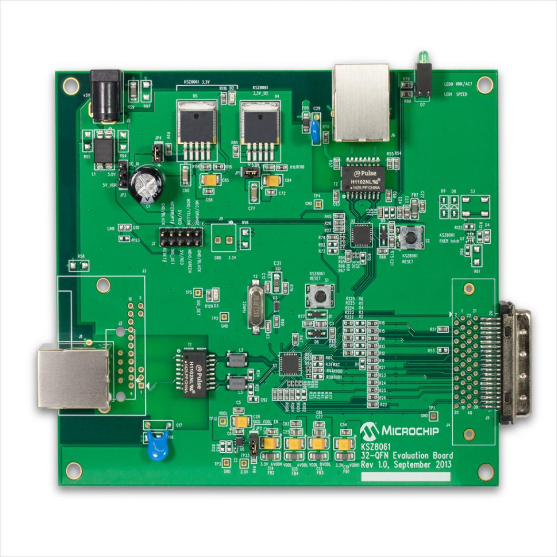KSZ8061MNX-EVAL 評価ボード