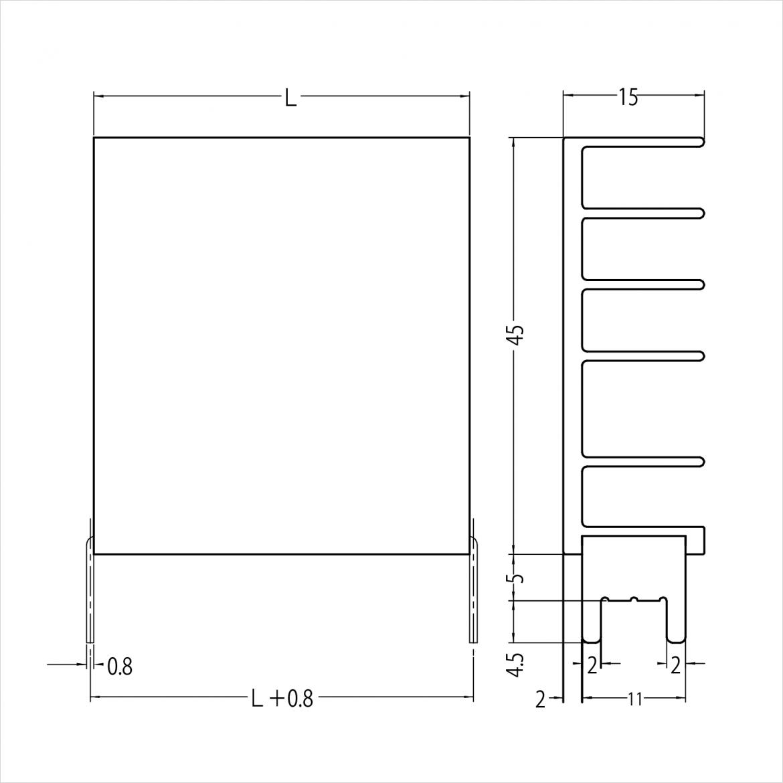 15VF045A 寸法図