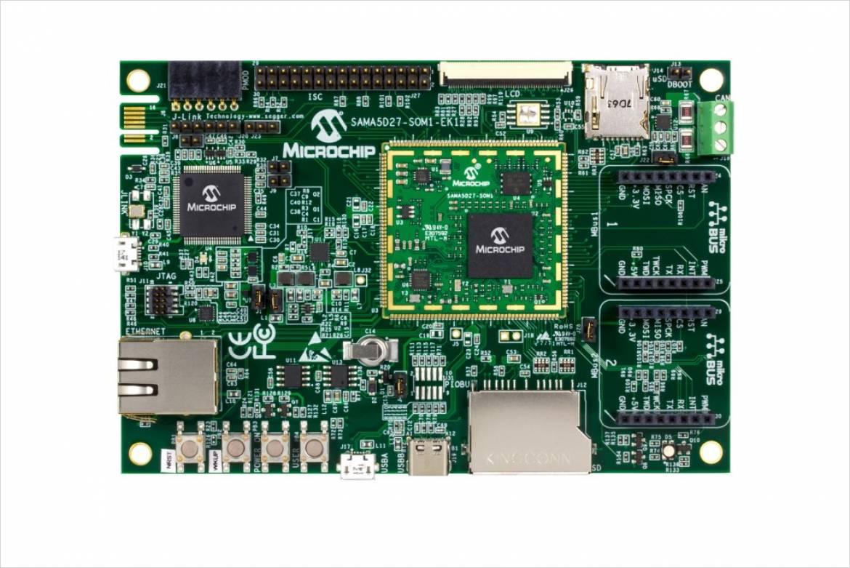 ATSAMA5D27-SOM1-EK1 開発ボード