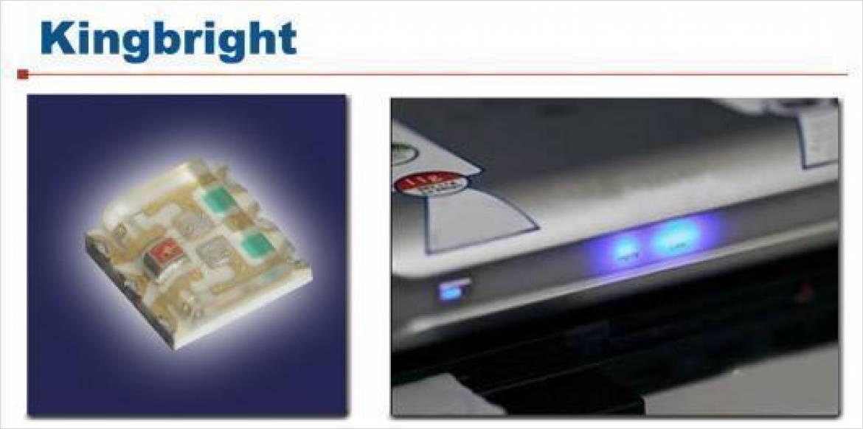 高輝度 フルカラー発光 表面実装LED