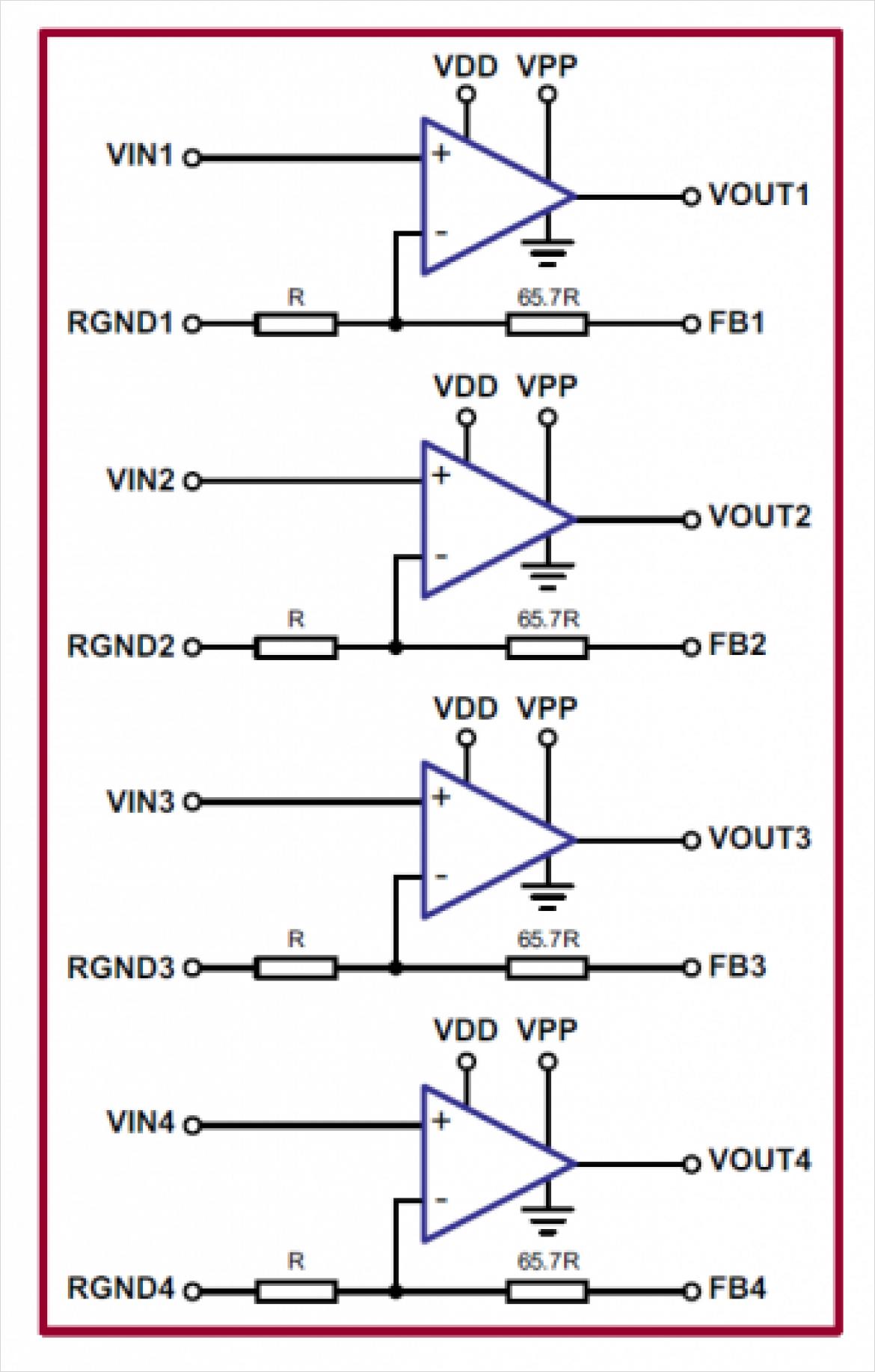 HV264 の回路構成
