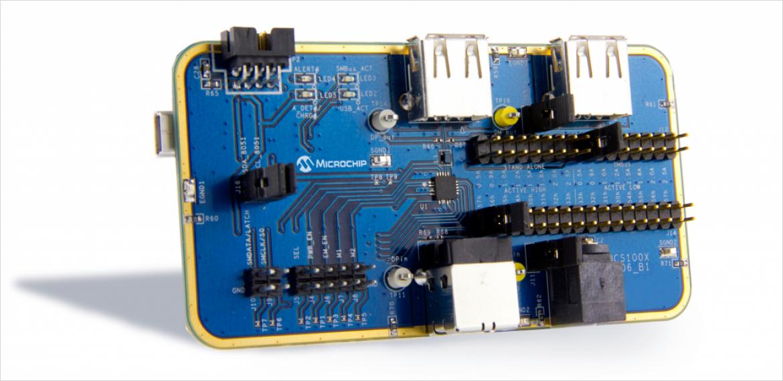 Microchip 社 UCS1001 評価ボード