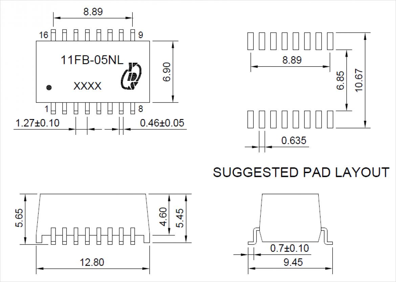 YDS 社 11FB-05NL 代替推奨品