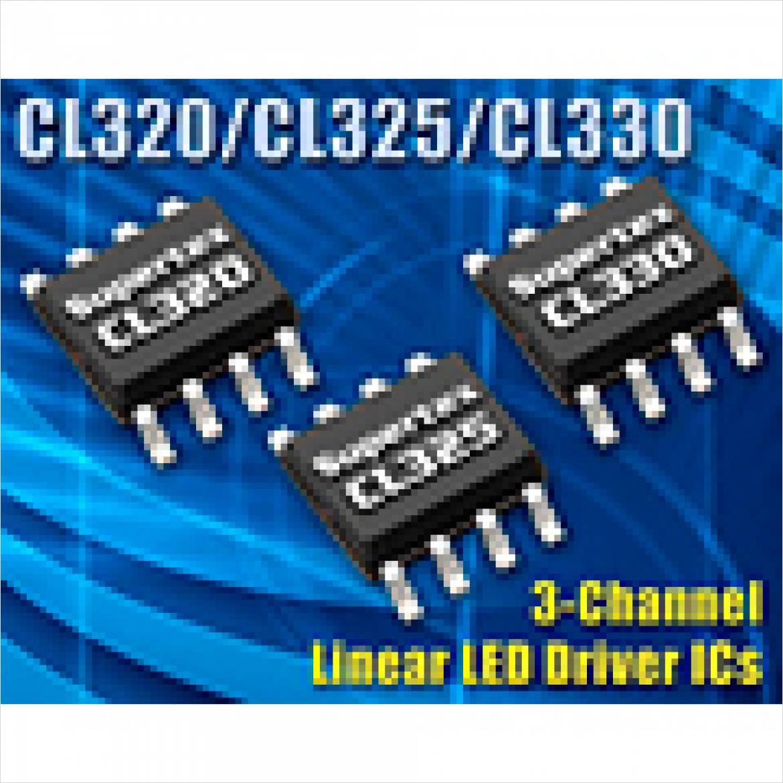 リニアレギュレータタイプ LED ドライバ CL320