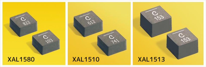 Coilcraft 社大電流容量メタルコンポジットパワーインダクタ XAL15xx シリーズ
