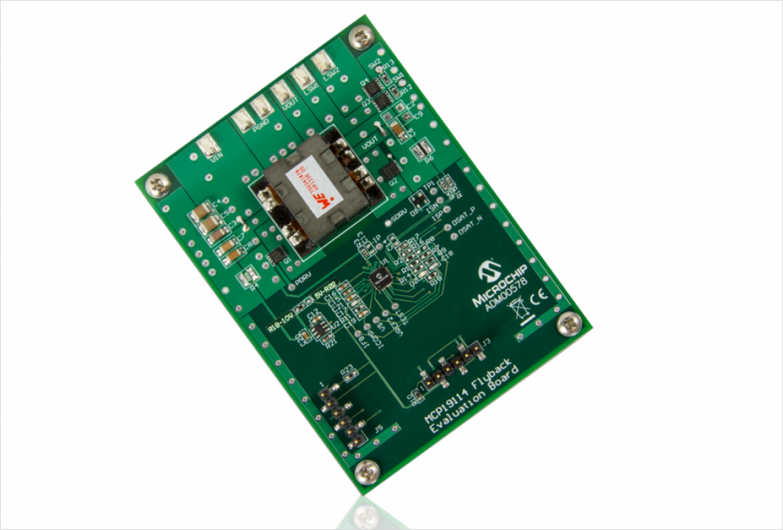 MCP19114搭載評価ボード (型番 ADM00578)
