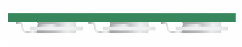 横実装タイプ FLAT GDT の実装イメージ