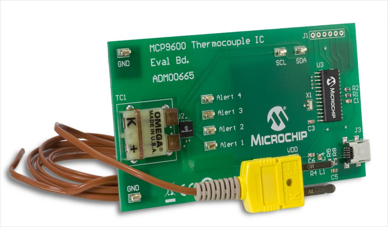 熱電対 IC 評価ボード ADM00665