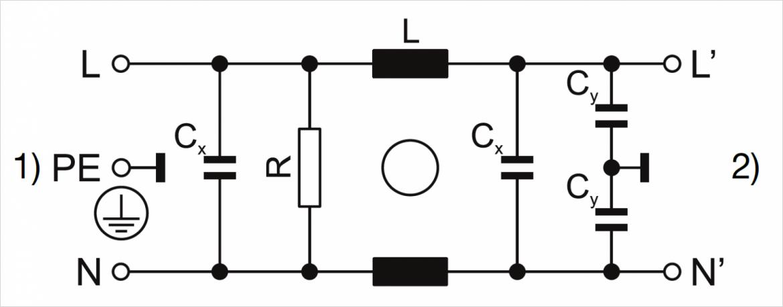スタンダード、デザイン N・P 回路図