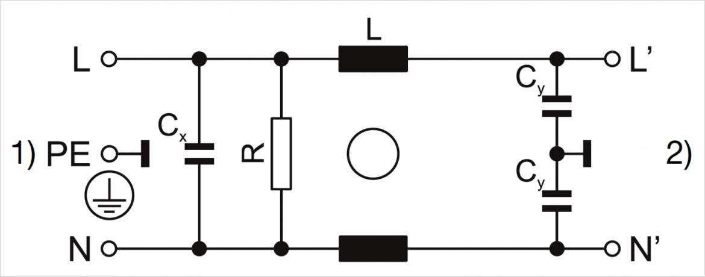 スタンダード、デザイン Q 回路図