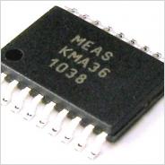 高精度回転・直線測定磁気エンコーダー KMA36