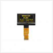 Winstar 社製有機 EL ディスプレイ WEO012864B