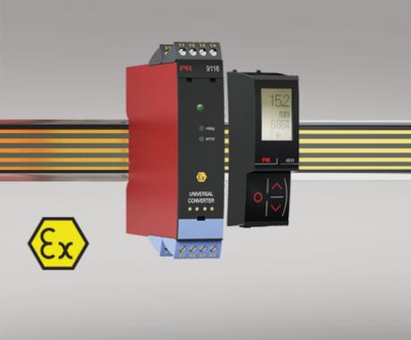 安全度水準 SIL2 対応 信号変換器 9116B