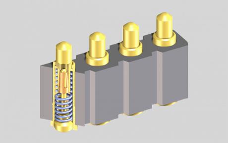 PRECI-DIP 社のスプリング内蔵コンタクト