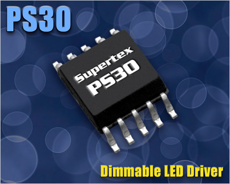 調光可能 LED ドライバ PS30