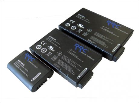 RRC社 Li-ion 二次電池パックラインアップ