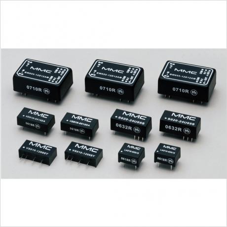 グローバルマイクロニクス社製ローパワー絶縁型 DC-DC コンバーターラインアップ