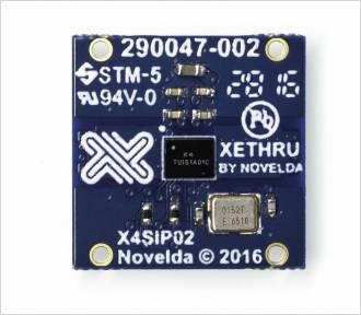 XeThru X4SIP02 レーダー サブシステム