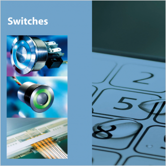SCHURTER 社のスイッチ製品